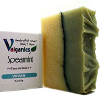 Essential Oil Vegan Lavender Spearmint Soap