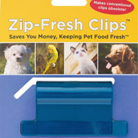 Zip-Fresh Clip Pet Clip