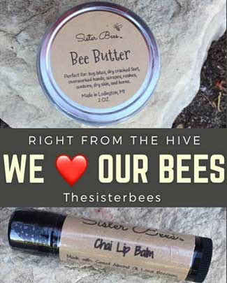 Sister Bees Beeswax Skin Care Products