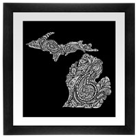 Paisley Michigan Print