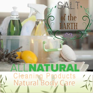 Introducing Salt of the Earth Natural Products for Home and Body