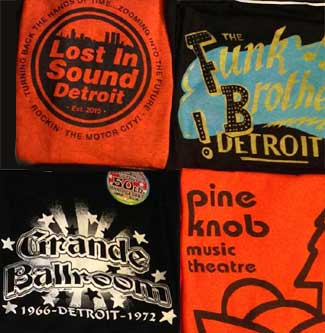 Lost In Sound Detroit T-shirts