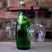 Wine Butler from Wine Barrel Staves