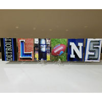 Sports Word Art Signs
