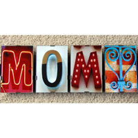 Family Word Art Signs