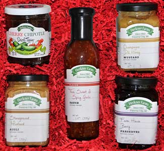 Introducing Herkner Farms Gourmet Food Products