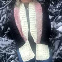 Crochet Pocket Scarf