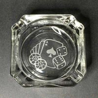 Engraved Ashtray