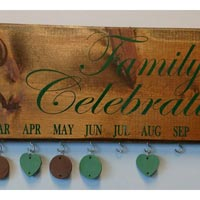 Engraved Family Celebration Board