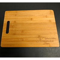 Engraved Custom Cutting Board