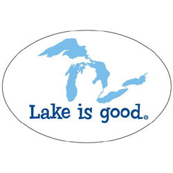 Lake is Good Decals