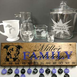 Endless Etching Engraved Products