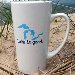 Lake is Good Great Lakes Mug