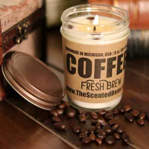 The Scented Bean Coffee Candles