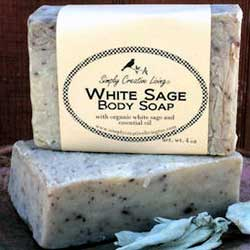 Essential Oil Scented Soaps White Sage