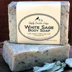 Essential Oil Scented Soaps White Sage
