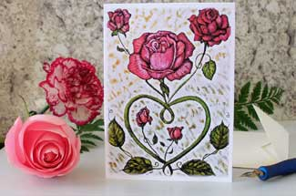 Love Rose Greeting Card