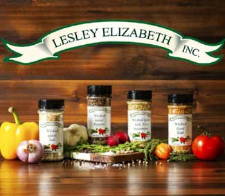 Lesley Elizabeth Seasonings Spices Dips