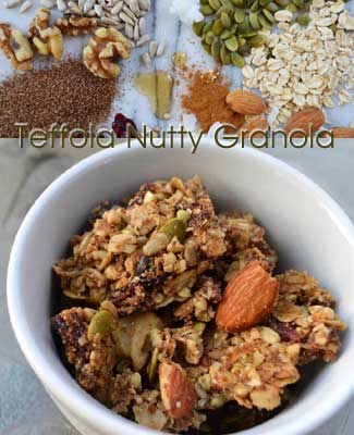 Teffola Nutty Granola by Tenera Grains