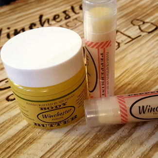 Introducing Body Butter and Lip Balm by Winchester Products