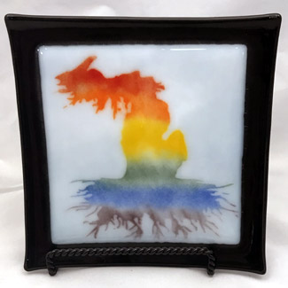 Fused Glass Art by Twirling Frog Studio