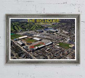 The Big House Framed Print by Photography of Tom Kelly