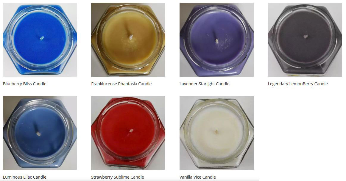 Coconut and Soy Wax Candles