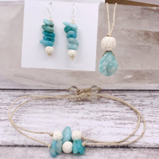 Gemstone Aromatherapy Jewelry