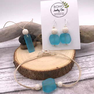 Sea Glass Jewelry by BOHO Jewelry Chic