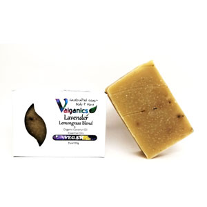 Essential Oil Vegan Lavender Lemongrass Soap